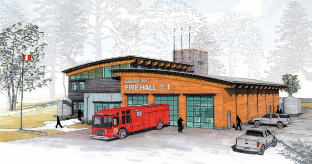 Permalink to Nanoose Fire Hall Grand Opening